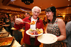 Clare Harvest Banquet at Falls Hotel ,Ennistymon  Clare Harvest