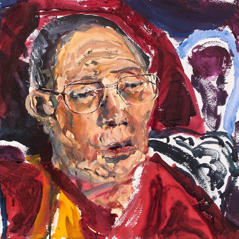 Rinpoche Head I. 2006