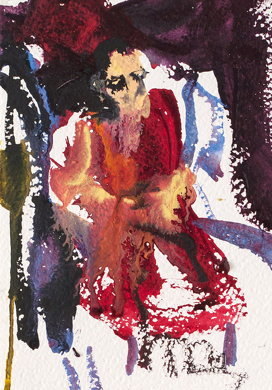Rinpoche sitting V. 2006