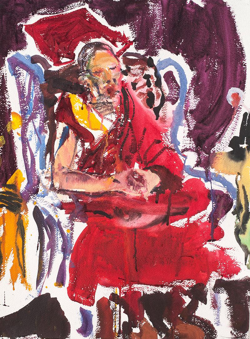 Rinpoche sitting IV. 2006